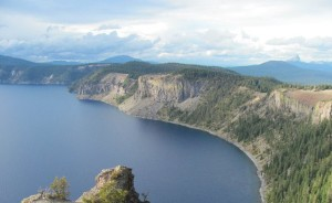 Crater Lake Clouds